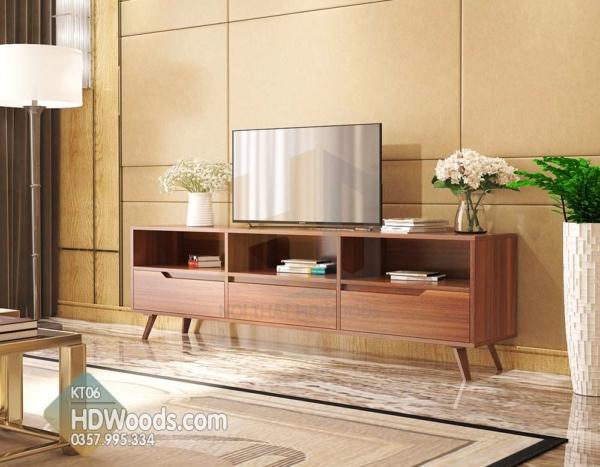 Kệ tivi phòng khách KT06 có chất lượng vượt trội, giá cả phải chăng